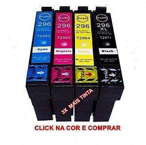 CARTUCHO DE TINTA COMPATIVEL EPSON  3X MAIS TINTA  XP-231 XP-431 XP-241 XP-441