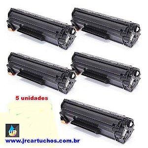 kit 5 toner HP universal  35A, 36A, 36A, 85A,78a,M1120,P1102,M 1132 ,m1212: P1005 P-1005, P1006 1132
