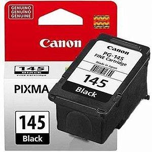 CARTUCHO DE TINTA CANON PG-145 PG145 PRETO | ORIGINAL 8ML