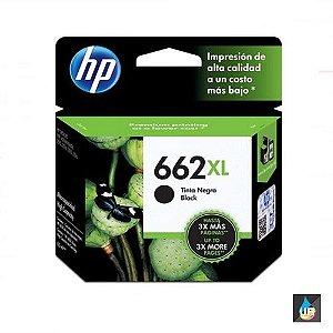 Cartucho HP 662XL preto Original (CZ105AB) Para HP DeskJet 2516, 3516, 3546, 2546, 1516, 4646, 2646