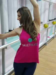 Camiseta Regata Balletpilates