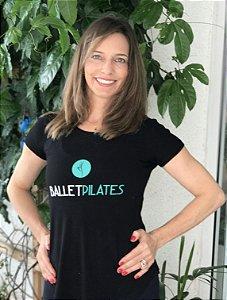 "Camiseta Baby Look  ""Ballet Pilates"""