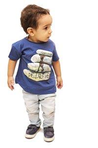 Camiseta HomenZiNhO Pedra AZ