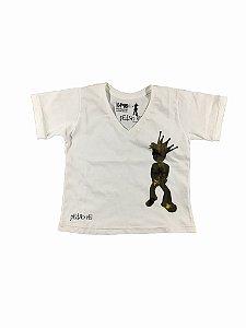 Camiseta HomenZiNhO pEdRo rEi