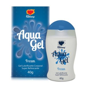 Gel lubrificante Aquagel Frozen - 40g