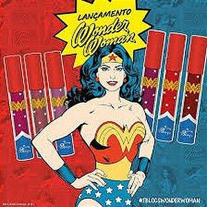Batom Líquido Mulher Maravilha - Wonder Woman Tblogs - Tracta