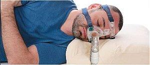Travesseiro Multi-Máscaras Viscoelástico Perfetto para Usuários de CPAP