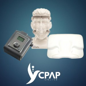Kit CPAP Philips Auto System One Série 60 + Máscara Nasal Pico + Travesseiro Perfetto