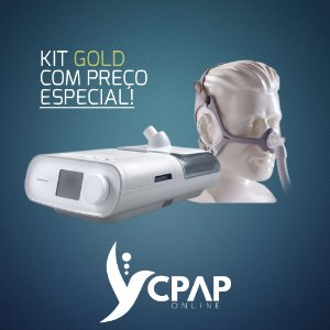 Kit CPAP Philips Dreamstation + Umidificador + Máscara Wisp