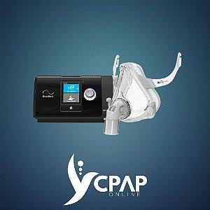 Kit CPAP ResMed AirSense S10 + Máscara Oronasal Airfit F10
