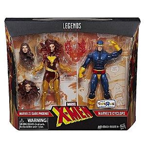 Marvel Legends X-Men - Cyclops and Dark Phoenix 2-pack Action Figures - TRU Exclusive (pré-venda)