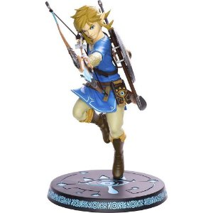 Boneco colecionável First 4 Figures The Legend of Zelda Breath of The Wild Link PVC Statue