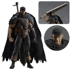 Action Figure Figma Berserk Guts Black Swordsman Repaint Ver.