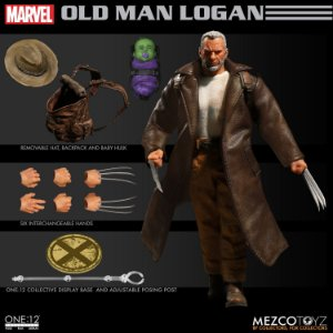 Mezco One:12 Marvel X-Men Old Man Logan