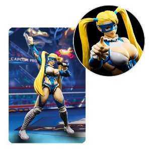 [reserva 10% do valor] Street Fighter V S.H.Figuarts - Rainbow Mika Action Figure