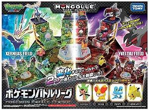 Moncollé Pokémon XY Battle League - Xerneas Field & Yveltal Field