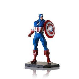 [pré-venda lote 128 e 129] Iron Studios 1/10 Art Scale Marvel Comics - Captain America