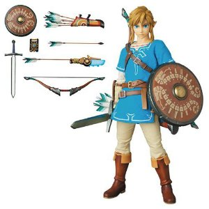 Action Figure Medicom RAH The Legend of Zelda Breath of the Wild Link