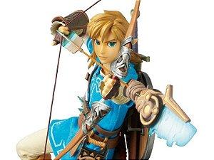 Medicom RAH The Legend of Zelda Breath of the Wild - Link Action Figure (pré-venda)