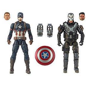 Marvel Legends MCU 10th Anniversary - Captain America and Crossbones 2-pack Action Figures (pré-venda)