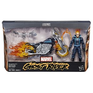 Marvel Legends 6-inch Deluxe Ultimate Riders Ghost Rider with Flame Cycle