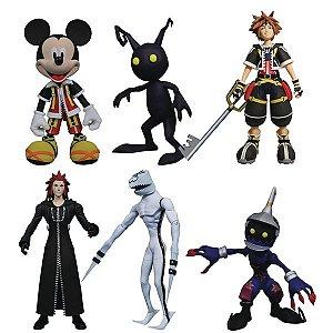 Kingdom Hearts Select Action Figure Series 1 Case (pré-venda)