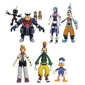 Kingdom Hearts Select Action Figure Series 2 Case (pré-venda)