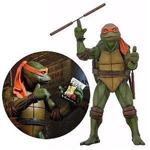 Teenage Mutant Ninja Turtles Movie Michelangelo 1/4 Scale Action Figure (pré-venda)