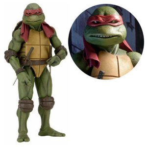 Teenage Mutant Ninja Turtles Movie Raphael 1/4 Scale Action Figure (pré-venda)