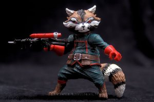 Marvel Legends EE Exclusive Guardians of the Galaxy - Rocket Racoon LOOSE