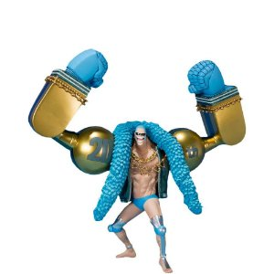 Action Figure Bandai FiguartsZERO One Piece 20th Anniversary Franky