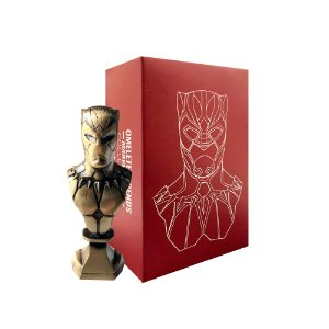 Mini Busto Omelete Box Marvel Pantera Negra