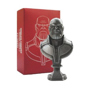 Mini Busto Omelete Box Marvel Thanos