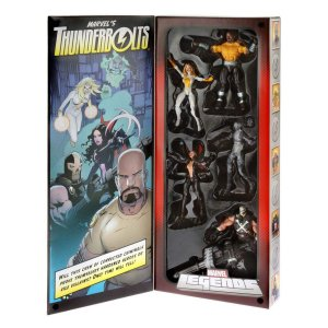 Boneco articulado Marvel Legends 6-Inch Thunderbolts Set SDCC 2013 Exclusive