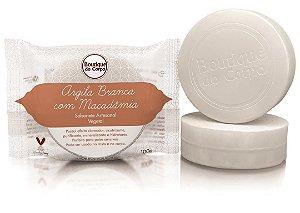 Sabonete Artesanal Argila Branca com Macadâmia Boutique do Corpo 100g