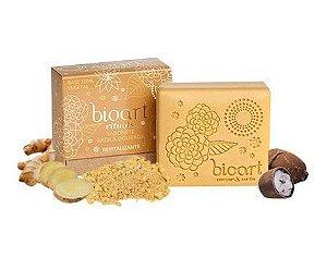 Sabonete Natural e Vegano Bioart Argila Dourada e Gengibre 100g