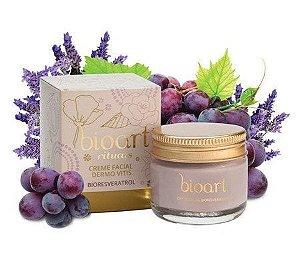 Creme Hidratante Facial Natural Bioresveratrol - Dermo Vitis - Bioart