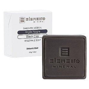 Sabonete de Argila Negra Elemento Mineral 100g