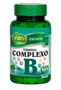 Vitaminas do Complexo B Unilife 60 Cáps.