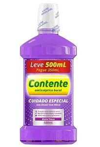 Enxaguante Bucal Vegano Contente Cuidado Especial - Leve 500ml Pague 350ml