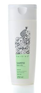 Shampoo Natural Orgânico Vegano Lippia Alba Herbia 300ml