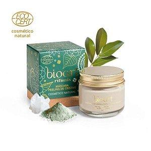Máscara de Argila Verde Peeling de Cristais Naturais Bioart