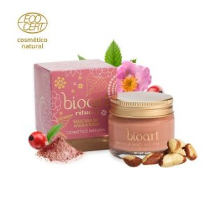 Máscara de Argila Rosa Regeneradora Bionutritiva Bioart