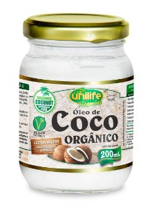 Óleo de Coco Orgânico Unilife