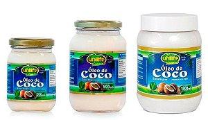 Óleo de Coco Natural Extravirgem Unilife
