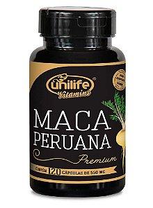 Maca Peruana Premium Pura Unilife - Em Cápsulas