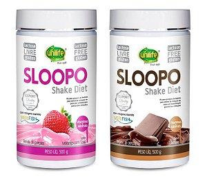 Shake Diet Emagrecedor Sloopo Unilife 500g