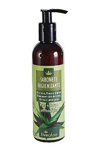 Sabonete Natural Higienizante Corpo e Rosto LiveAloe 240ml