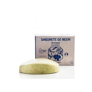 Sabonete Artesanal de Neem - Uso Humano - Preserva Mundi 80g