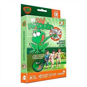 Adesivo Repelente Natural Sai Mosquito Babydeas - 8 unidades